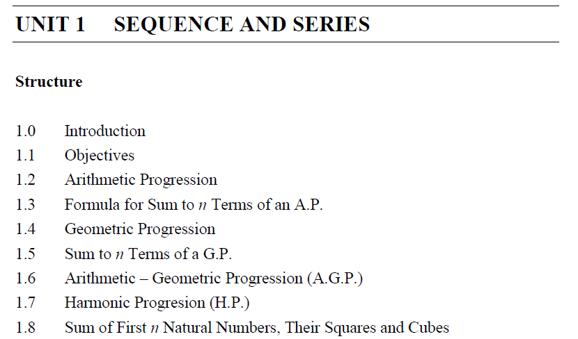 Series and sequence maths video